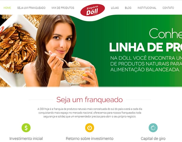 Website Empório Döll