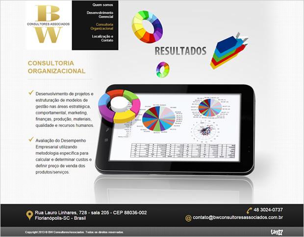 Website BW Consultores Associados