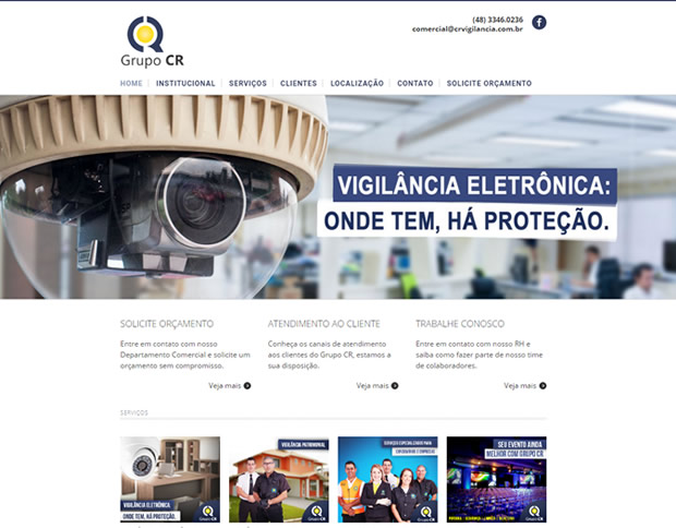 Website Grupo CR