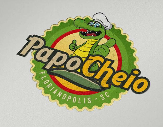 Logo Restaurante Papo Cheio